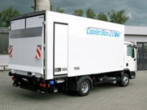 KRESS Kühl LKW mit Cooler Box