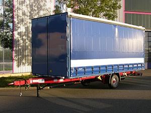 SAXAS Anhänger mit Schiebladen APS-5-Z